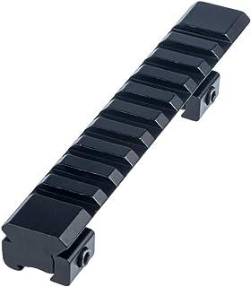 FOCUHUNTER Aluminium Tactical Scope Montaje Vertical 11mm to 20mm Weaver/Picatinny Adaptador de Base de Montaje en Riel para Airsoft, Alcance del Rifle, Pistola de Caza
