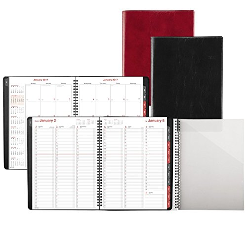 "Day-Timer Weekly / Monthly Appointment Book / Planner 2017, 8 x 11"", Color Selected For You May Vary (33350) Photo #4"