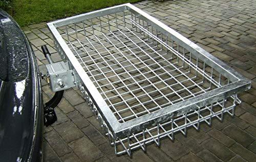 Heckträger mit Schnellverschluss, verzinkt, 12 kg, ideal für den Wildtransport