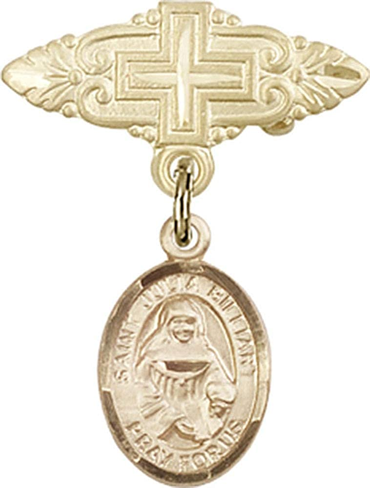 Jewels Obsession Baby Badge Fresno Mall Award with St. Billiart Julia and Ba Charm