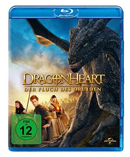 Dragonheart 3 - Der Fluch des Druiden [Alemania] [Blu-ray]