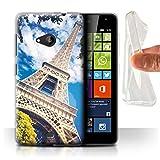 Stuff4 Gel TPU Hülle/Case für Microsoft Lumia 535 /
