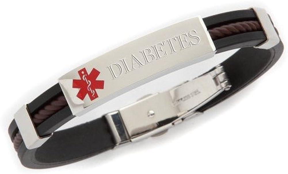 Choice Diabetes Medical Ranking TOP17 Alert Id Rubber 8.5
