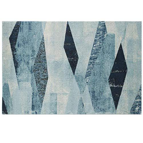 M-YN Alfombra Salón Sala de Estar de tapetes, Soft Touch Gran área de alfombras, tapetes Modelos geométricos for el Dormitorio Lavandería (Color : 1, Size : 140cm×200cm)