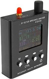 MASODHDFX Verison N1201SA inglés 140MHz-2.7GHz UV RF Vector de impedancia Ant SWR Analizador de Antena Medidor Probador