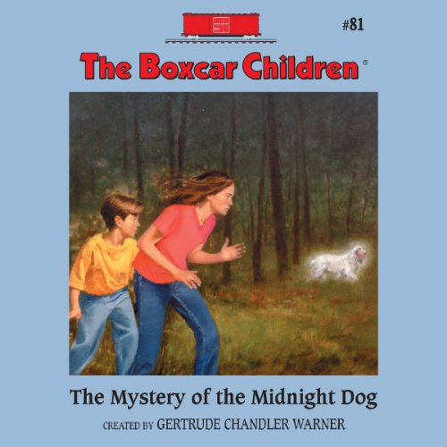 The Mystery of the Midnight Dog audiobook cover art
