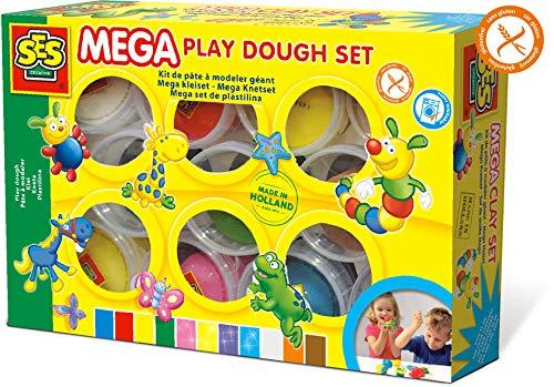 SES Creative B0167AN1T8 Mega Knetset, Mehrfarbig