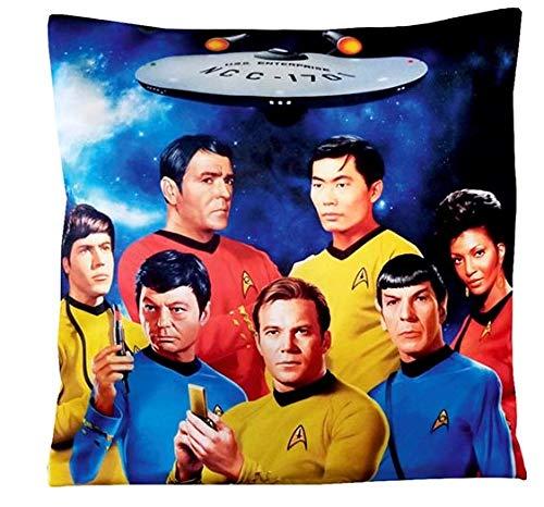 SAVENT Offizielles Star Trek Kissen: Enterprise Crew cm. 40 x 40 cm