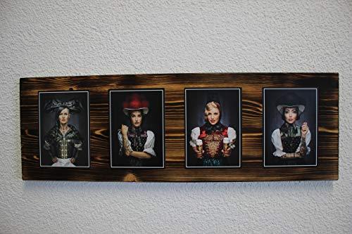 """JOKA International - Black Forest Schwarzwaldbilder auf Holz """"Dominik """" 60 x 20 x 1.5 cm Design trifft Geschichte, eine perfekte Kombination aus modern und rustikal. (Originale von Sebastian Wehrle)"""