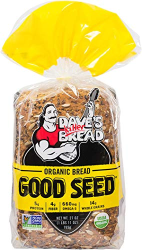 Daves Killer Bread Organic Bread, Good Seed, 27 Oz (Pack of 8)