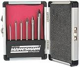 Brueder Mannesmann Werkzeuge - Kit punte da trapano per vetro