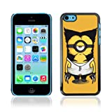CelebrityCase Polycarbonate Hard Back Case Cover for Apple iPhone 5C ( Wolverine Minion )