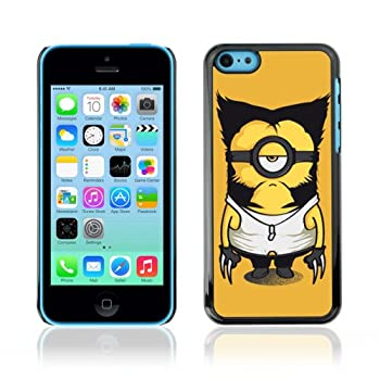 CelebrityCase Polycarbonate Hard Back Case Cover for Apple iPhone 5C   Wolverine Minion
