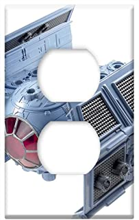 Switch Plate Outlet Cover - Spaceship Model Isolated Space Ship Model Starwars