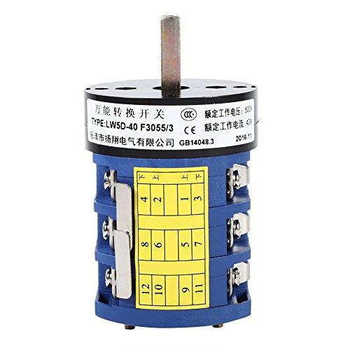 VGEBY 220V / 380V 40A Cambiador de Llantas Interruptor de Inversión
