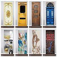 PVC PVC3Dステッカー壁紙建物ポスターポスターキッチン寝室家の装飾ステッカー壁粘着性DIYモダン-95x215