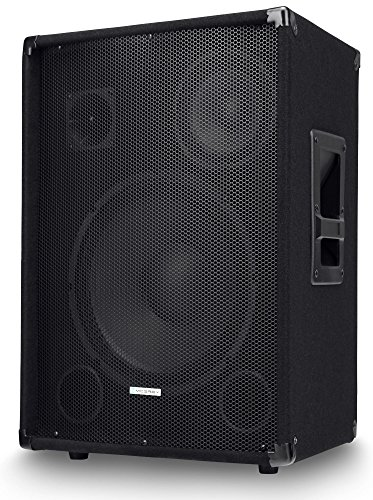 "McGrey SL-12/3 3-Wege DJ PA Lautsprecher Box 30cm (12"") Subwoofer 600W (Passiv, 2-Wege System, Holzgehäuse)"