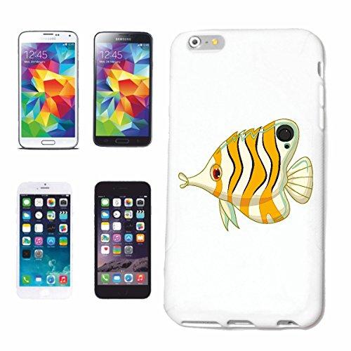 Bandenmarkt telefoonhoes compatibel met iPhone 6 BONTER van de siervis met lange neus, vissoorten, siervissen, aquarium, hardcase, beschermhoes, mobiele telefoon cover Smart C