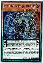 Mythical Beast Jackal King - EXFO-EN026 - Ultra Rare - 1st Edition
