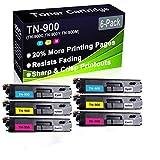 Confezione da 6 cartucce toner compatibili HL-L9200 HL-L9300 (alta capacità) per stampante laser Brother TN-900 (TN-900C TN-900Y TN-900Y TN-900M)