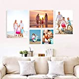 YISAMA Cuadros Personalizados con Fotos en Cartón Pluma o Foam. Collage de Poster Personalizados. 1 de 100x60 cm