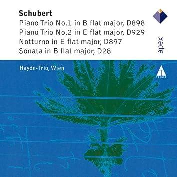 Schubert : The Piano Trios