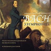 J.C.F. Bach: 3 Symphonies by Neues Bachisches Collegium Musicum Leipzig