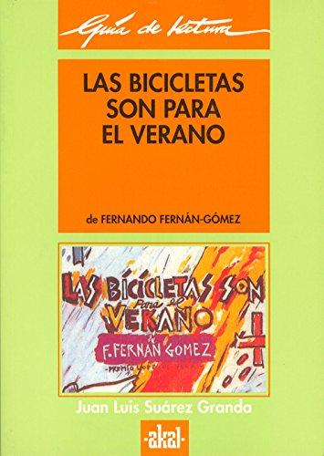 Guía de lectura: Las bicicletas son para el verano: 30 (Guías de lectura)