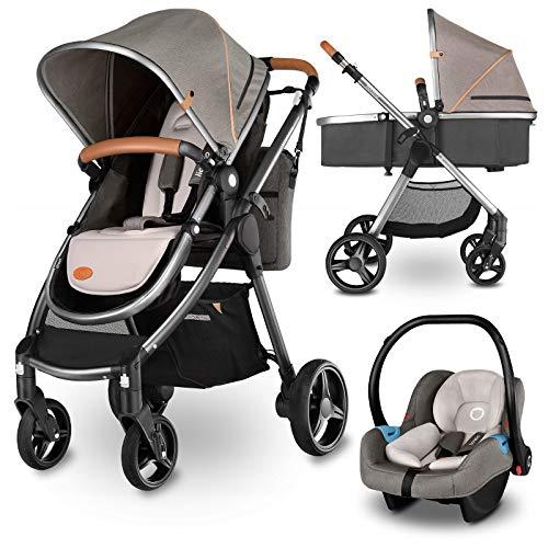 SONARIN Leicht Kinderwagen,kompakt Reise Buggy,einh/ändig faltbar,F/ünf Punkt Gurt,ideal f/ür Flugzeug Blau