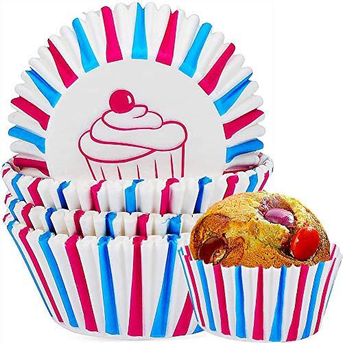 Moldes para cupcakes,COTEY 200 Piezas Papel Molde Muffin Cases,Moldes de papel para...