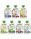 Bio Gemüse Quetschies - Pumpkin Organics QUERBEET (48 x 100g) Snacks für Kinder ab 12. Monat