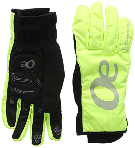 OUTEREDGE Glove Winter AEROTEX Yellow Reflective [Misc.]