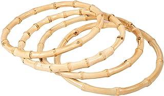 round bamboo purse handles