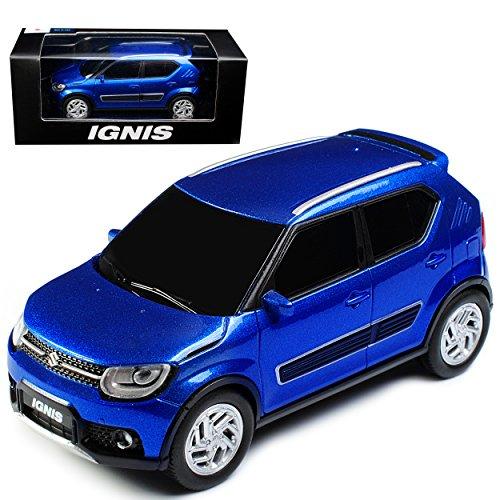Unbekannt Suzuki Ignis 5 Türer Blau 3. Generation ab 2017 1/43 Modellcarsonline Modell Auto