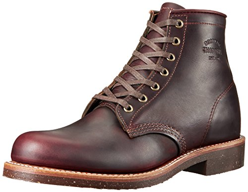 Original Chippewa Collection Men's 1901M25 Engineer Boot, Cordovan, 9 D US