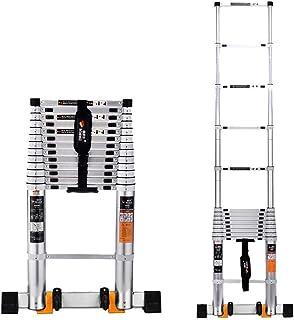 Step Stool HTTTD Telescopic Ladder Step Stool - Aluminum Alloy Folding Stable Telescopic Step Stool - 6 Sizes Step Stool H...