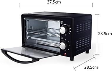 Breakfast Machine Retro 800-Watt Countertop Microwave Oven Pre Programmed Cooking Settings Easy Clean Interior, Black (Color : Black, Size : 37.5x23.5x28.5CM)