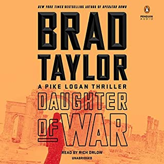 Daughter of War audiobook cover art
