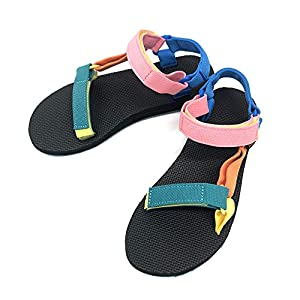 テバ TEVA サンダル オリジナル ユニバーサル 1003987 FOOTWEAR W ORIGINAL UNIVERSAL (90's Multi, measurement_24_point_0_centimeters)
