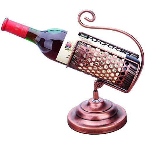 JIANGCJ De gama alta FAGavin Creativo Moda Trofeo Vino Estante Vino Botella Vino Vino Vino Set Vino Gabinete Decoración Adornos