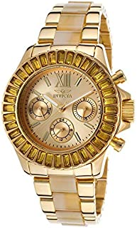 Invicta Angel Ladies Watch 18K Gold Plated Steel and Dial Model 17492