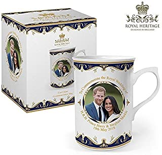 Royal Heritage - Designed in England LP18072 Commemorative Wedding Gift Mug, White