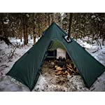 OneTigris Iron Wall Stove Tent with Inner Mesh, Weighs 1900g 5