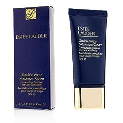 Estée Lauder Double Wear Maximum Cover Foundation Camouflage Make Up 07, Medium Deep, 1-Pack (1 x 30 ml)