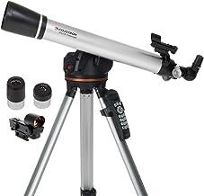 Celestron - 60LCM Computerized Refractor Telescope - Telescopes for Beginners - 2 Eyepieces - Full-Height Tripod - Motoriz...