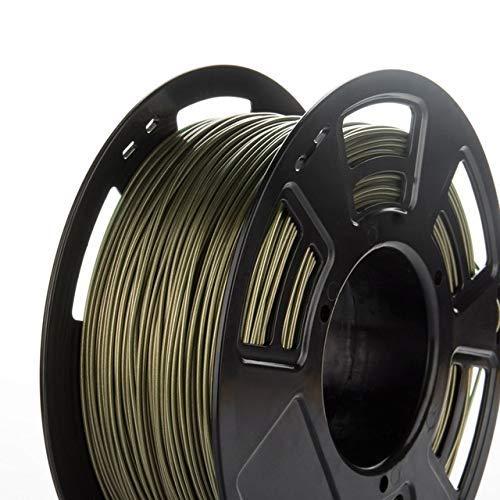 Terrarum 1.75mm PETG/ABS/PLA Filament Goede sterkte 3D Printer drukmateriaal benodigdheden 1KG voor 3D Printing Pen Engineer Tekening Kunst - (Mesh: ABS 420m Roze) PLA 320m bronze