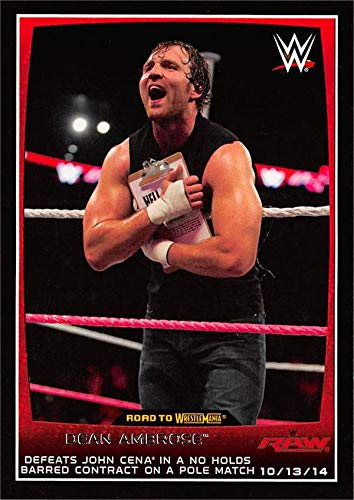 dean ambrose trading cards - 7