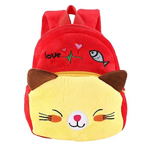 Mochila para niños, mochilas de escuela primaria, mochila de dibujos animados, loncheras para niños en edad preescolar, bolsa de transporte para niños pequeños de preescolar y preescolar