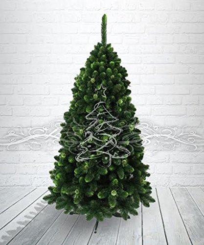 Pin Gold avec vert fin et pommes de pin 150 cm - artificiel de Noël jeune arbre
