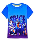 Jungen Basketball Trikots T-Shirts Space 2 Movie Toon Squad Tops Tees A New Legacy Kinder Kurzarm...